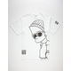 NEFF x The Simpsons Big Steeze Mens T-Shirt