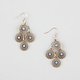 FULL TILT Mini Boho Disc Chandelier Earrings