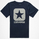 CONVERSE Square Logo Boys T-Shirt