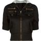 FULL TILT Hooded Twill Womens Jacket