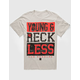 YOUNG & RECKLESS Bandana Bars Mens T-Shirt