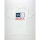 RVCA Americana Right Box Mens T-Shirt