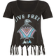 ELEMENT Eagle Womens Fringe Crop Tee