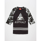ASPHALT YACHT CLUB Strike Mens Baseball Tee