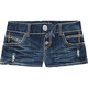 ALMOST FAMOUS 3 Button Front Womens Denim Shorts DNM S
