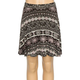 FULL TILT Mixed Print Girls Skater Skirt