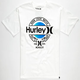 HURLEY Trade Mark Mens T-Shirt