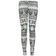 FULL TILT Medallion Geo Print Girls Leggings