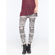 FULL TILT Medallion Ethnic Womens Leggings