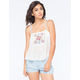 FLYING TOMATO Embroidered Womens Cami