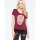 FULL TILT Ornate Skull Womens Tee