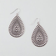 FULL TILT Studded Teardrop Earrings