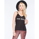 FULL TILT Free Spirit Bar Back Womens Tank