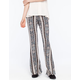 FULL TILT Vertical Medallion Womens Flare Pants