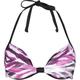 FULL TILT Zebra Underwire Bikini Top