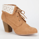 QUPID Sake Womens Booties