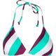 FULL TILT Tri Stripe Bikini Top