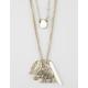 FULL TILT  Layered Charm Necklace