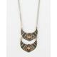 FULL TILT Double Crescent Necklace