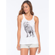 RIOT SOCIETY Ornate Wolf Womens Tank