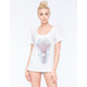 RIOT SOCIETY Ornate Giraffe Womens Tee