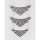 FULL TILT 3 Etched Tribal Pendant Necklace