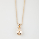 KING ICE 14K Gold Money Bag Necklace
