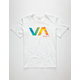 RVCA VA Tie Dye Boys T-Shirt