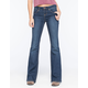 TINSELTOWN Womens Flare Jeans