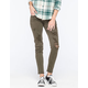 TINSELTOWN Distressed & Frayed Womens Skinny Jeans