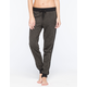 FULL TILT Side Strap Marled Womens Jogger Pants