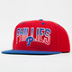 AMERICAN NEEDLE Hayes Phillies Mens Snapback Hat