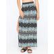 FULL TILT Mixed Print Maxi Skirt