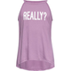 FULL TILT Really? Hi Neck Girls Tank