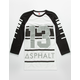 ASPHALT YACHT CLUB Beam Mens Baseball Tee