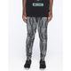 ELWOOD X-Ray Tie Dye Mens Denim Jogger Pants