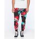 ELWOOD Floral Palms Mens Jogger Pants