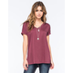 FULL TILT Womens Hi Low Tee