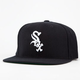 AMERICAN NEEDLE Blockhead White Sox Mens Snapback Hat
