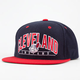 AMERICAN NEEDLE Arched Indians Mens Snapback Hat