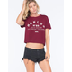 YOUNG & RECKLESS Build Dreams Womens Crop Tee