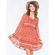 TAYLOR & SAGE Tiered Babydoll Dress