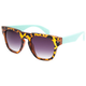 BLUE CROWN Mint Temples Sunglasses
