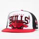 47 BRAND Tripleblock Bulls Mens Snapback Hat