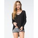 FULL TILT Essential Womens Hi-Low Tunic