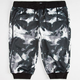 ELWOOD Abstract Palms Mens Jogger Shorts