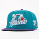 47 BRAND Tricky Lou Hornets Mens Snapback Hat