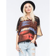 LOTTIE & HOLLY Native Fringed Womens Poncho