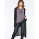 LOTTIE & HOLLY Hooded Hachi Womens Maxi Cardigan