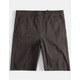 NITROUS BLACK Jogger Boys Shorts